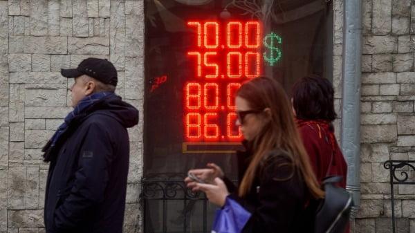 Российский рубль вернулся к докризисному уровню