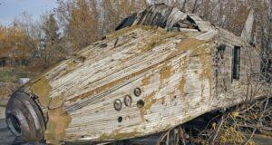 Первый русский космический челнок был деревянным.