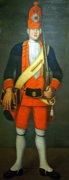 Портрет ирландца Джеймса Киркланда. Иоганн Кристоф Мерк
